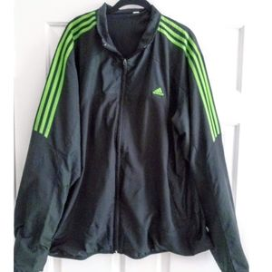 🌞MEN'S ADIDAS WINDBREAKER JACKET SZ 2XL🌞